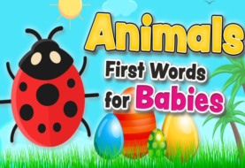 Animals vocabulary - First words for babies and toddlers in English
