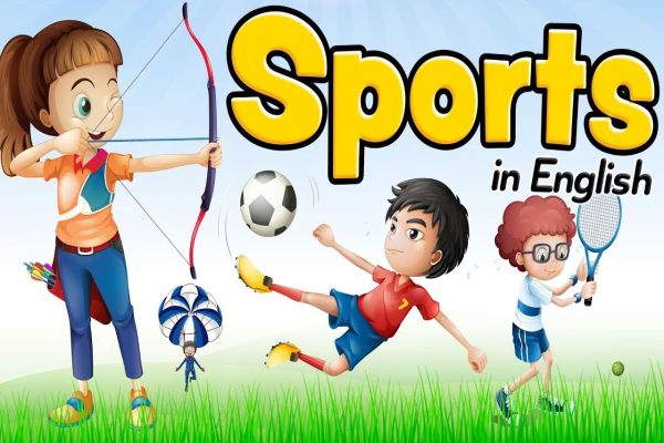 Sports in English – Vocabulary for beginners and children