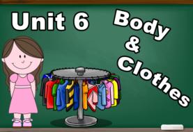 Unit 6 : Body & Clothes
