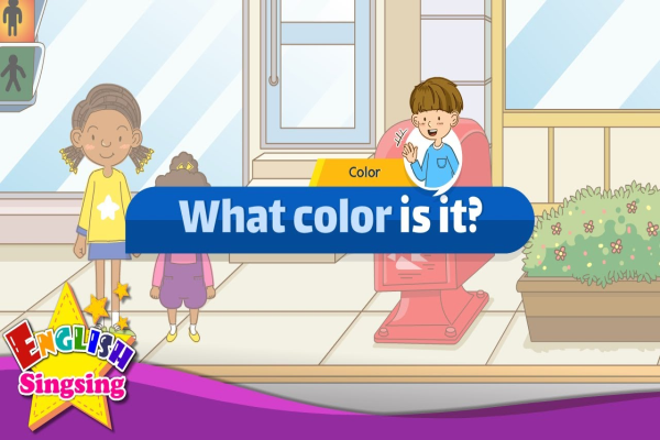 [Color] What color is it? – Easy Dialogue – Role Play