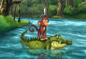 The Crocodile and The Monkey